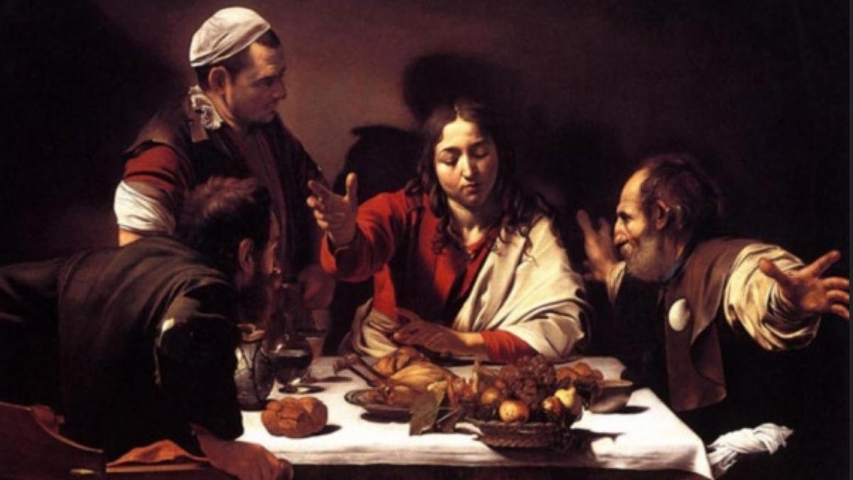 The Emmaus Meal (public domain)