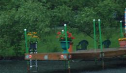Dock on the Trent-Severn