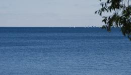 Lake Ontario and sailboats