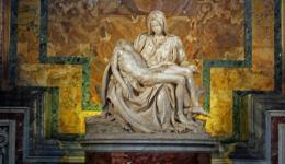 Pieta in the Vatican, Rome