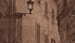 sepia: Roman walls