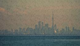 Toronto skyline, photo adapted