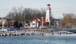 Lighthouse at Snug Harbour, Oakville, ON