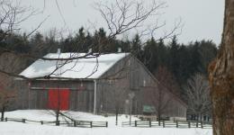 old Ontario barn