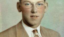 Arthur Freeman Barber as a young man