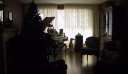 Silhouette: Room at Christmas