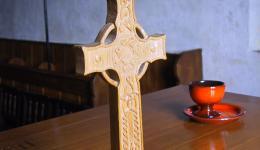 Celtic Cross, St. Martin's Chapel, Iona