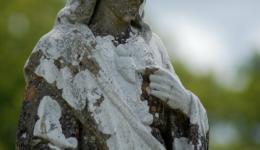 Statue of Jesus, Turlough, Ireland
