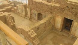 ancient house interior, Ephesus