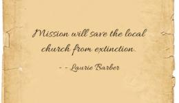 quote: Mission will save us