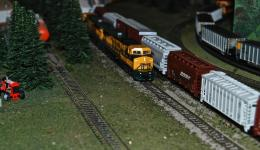 Model Railway Scene