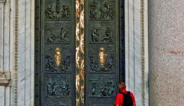 Pilgrim in Rome