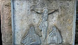 ancient crucifix, Mt Cashel, Co Tipperary
