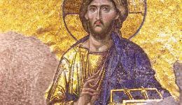 Jesus Icon, Haggia Sophia, Turkey