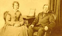 Robert & Harriet Barber - a portrait