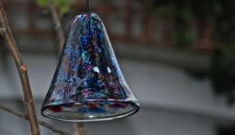 blown glass bell
