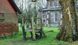 Wingfield churchyard, Suffolk